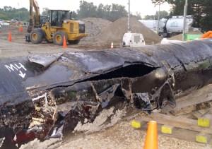 Tar sands pipeline rupture, Michigan