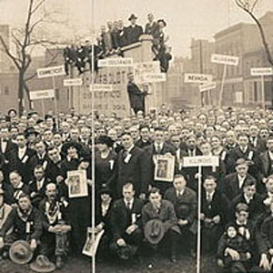 1919 U.S. Labor Party convention, detail