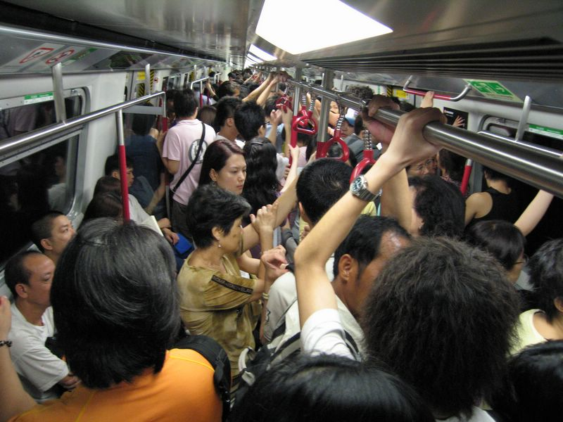 Chinas Mob VIDEO Worlds Most Crowded Subways EVER