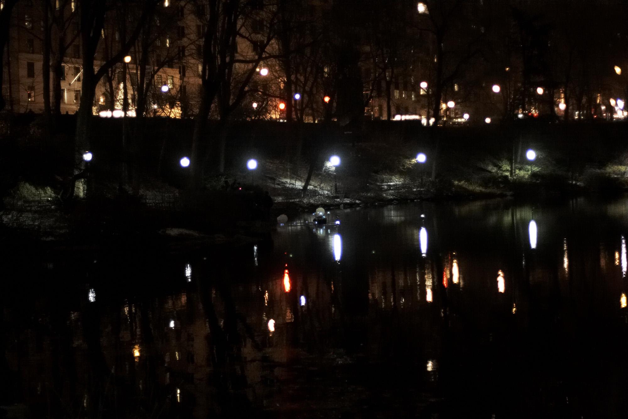 Urban Trailhead – at the pond