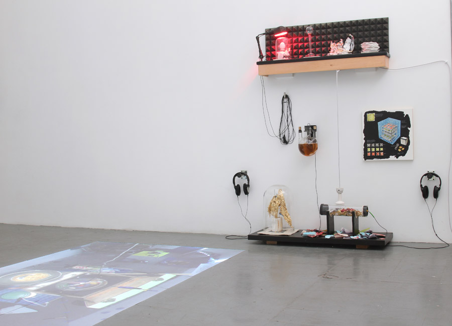 Instrument As Studio – Installation View