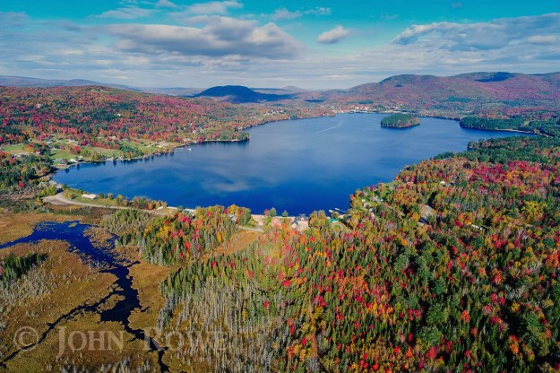 fall foliage 2017 island pond vermont