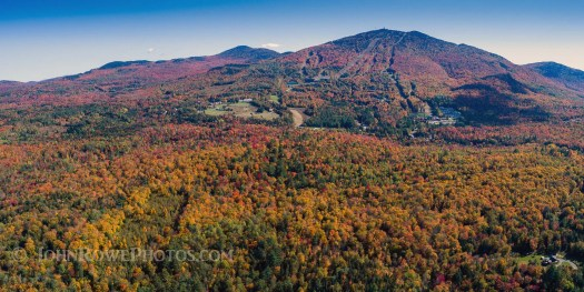Burke Mountain Vermont in fall