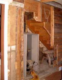 Furnace: Furnace Under Stairs