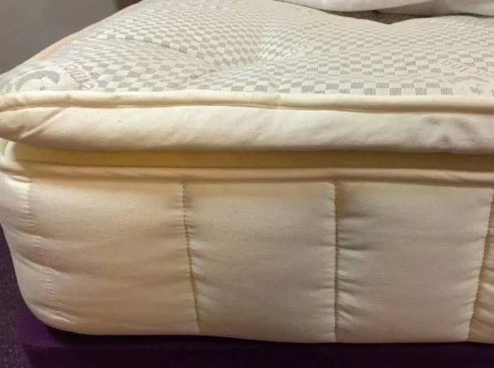 what is a pillow top mattress john