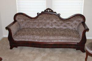 antique restoration - settee