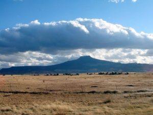 View of Cerro Pedernal, New Mexico