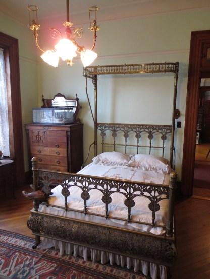 The Howard bedroom.