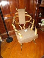 Antler chair.