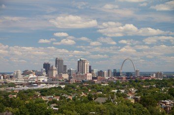 View of downtown.