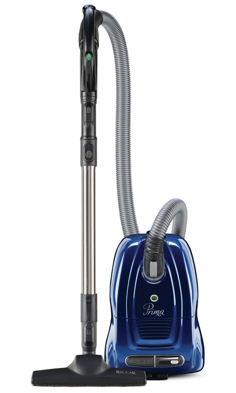 RICCAR PRIMA STRAIGHT SUCTION CANISTER VACUUM CLEANER