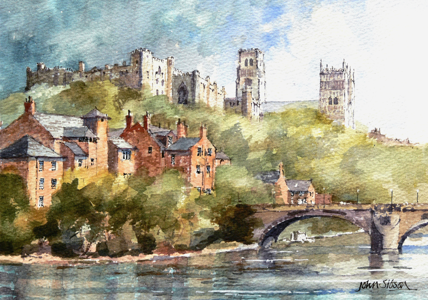 Durham watercolours  John Sibson