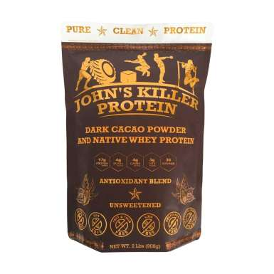 Sugar free organic chocolate protein powder