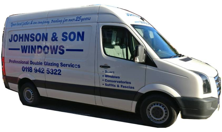 Photo of Johnson and Son van