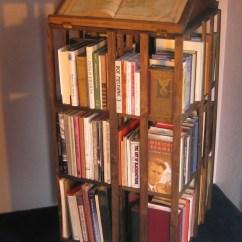 High Chair That Folds Flat Leather Swivel Revolving Bookcase | Johnsonarts