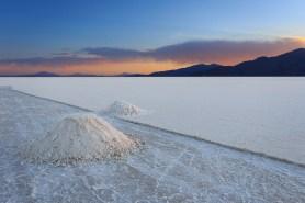 Extração de sal.