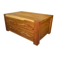 Contemporary 4 Drawer Coffee Table - Johnson Brothers ...