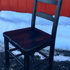 Unfinished Ladder Back Chairs Childs Plastic Table And Chair 3 Rail Stylish Solid Available In