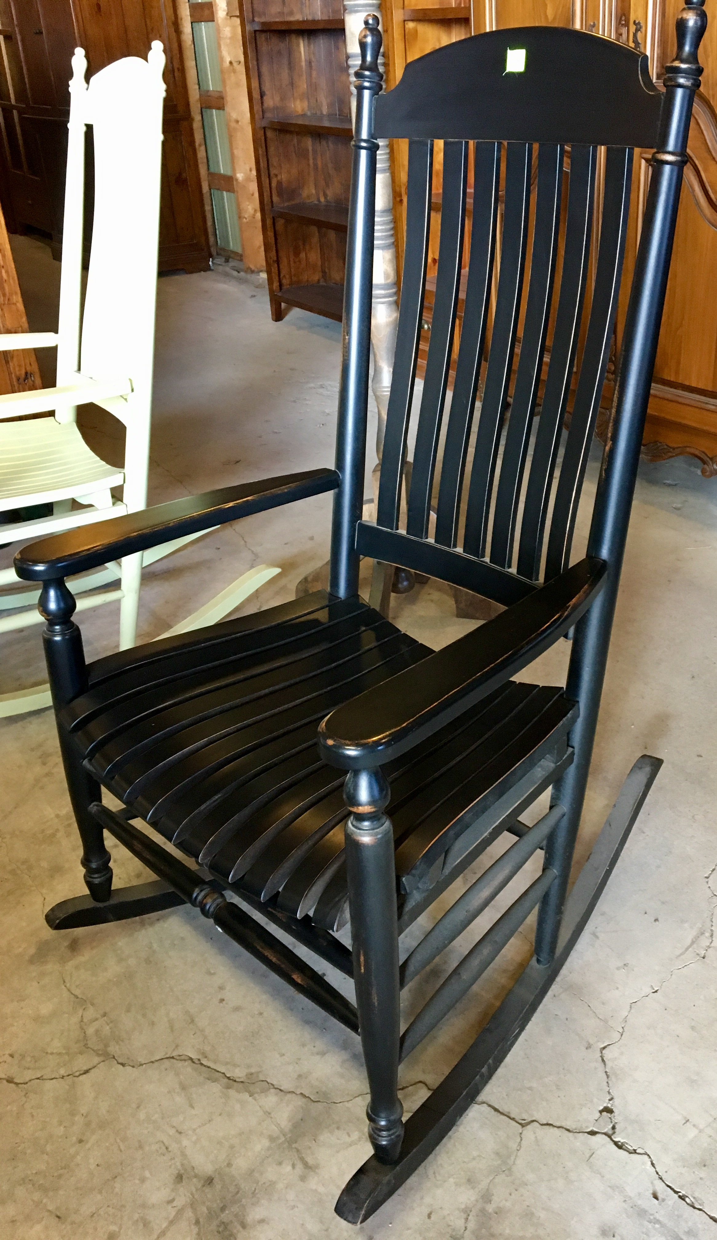 Comfortable Rocking Chair Antique Reproduction Rocking Chair Very Solid And Comfortable