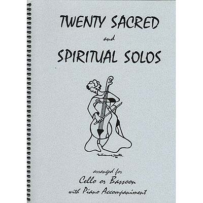 Twenty Sacred and Spiritual Solos, cello/piano (Last