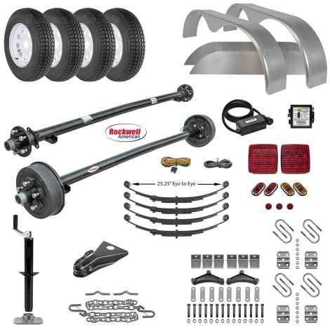 Tandem Axle Trailer Parts Kit