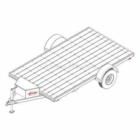6′ 10″ x 12′ Utility Trailer Plans – 5,200 lb Capacity - 6