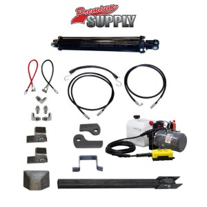 Dump Trailer Hydraulic Cylinder Direct Push Kit - PCK 3530-DP