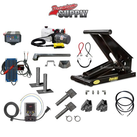 Hydraulic Scissor Hoist Kit | Model PH616-5 Premium Optimizer Kit
