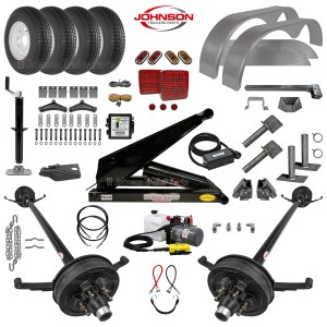 10.4K Dump Trailer Parts Kit - PH516 Hoist