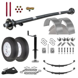 "6' 4"" Utility Trailer Parts Kit - 3.5k - Model U76-120-35J"