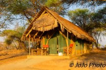 Our tent #22 at Tarangire Safari Lodge in Tarangire National Park