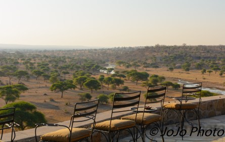 Terrace view at Tarangire Safari Lodge