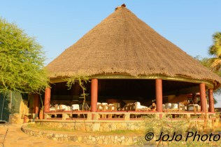 Restaurant at Tarangire Safari Lodge