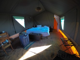 Our Tent at Chaka Camp