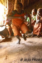 Batwa Pygmy Tribe singing/dancing in Bwindi National Park