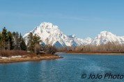 Mt. Moran from the Oxbow Bend of the Snake River in Grand Teton National Park