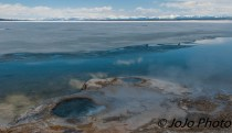 View from West Thumb Geyser Basin