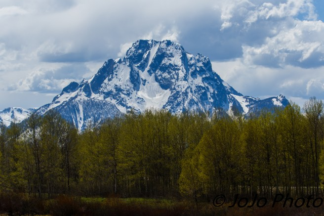 Mt. Moran in Grand Teton National Park