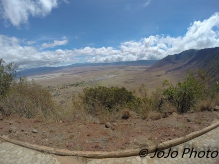 Drive out of the Ngorongoro Crater