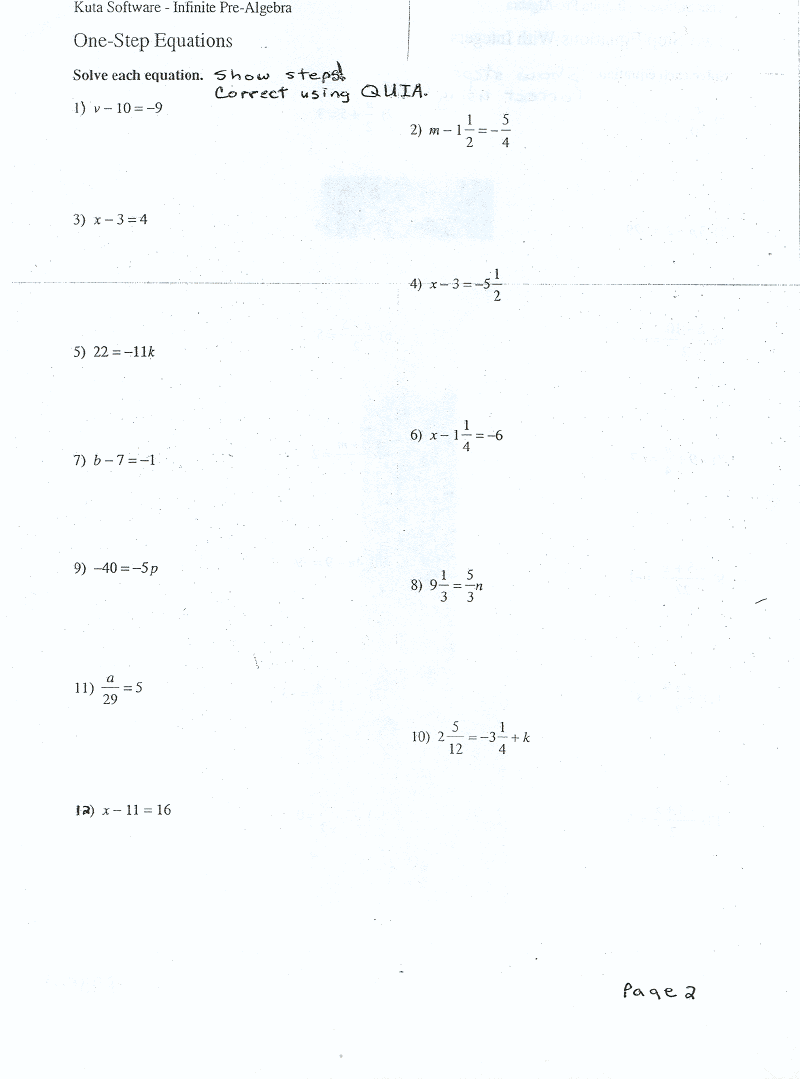 hight resolution of Equations 7EE 3 - Mrs. Johnson 7th Grade Math WMS