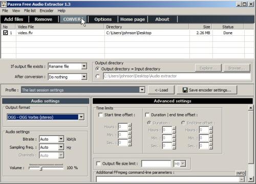 pazera free audio extractor 1.3