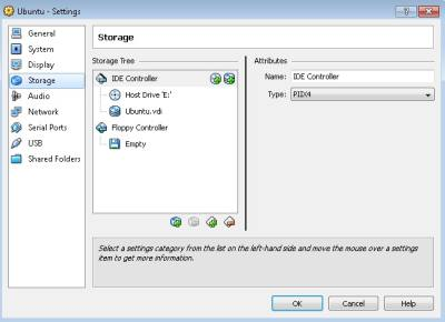 Virtualbox drive storage
