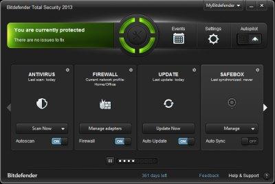 Bitdefender Total Security 2013
