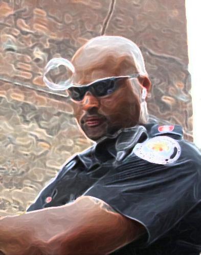 officer bubbles Adam Josephs