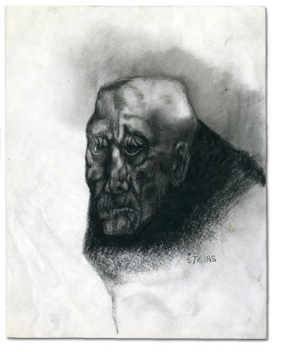 charcoal drawing - Ilgvars Steins