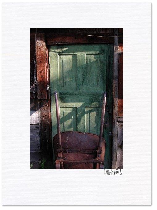 The Green Door ~ © John Steins