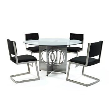 Chicago Upholstered Dining Set