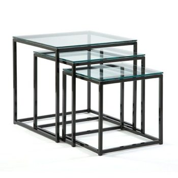 Cubic Nesting End Tables
