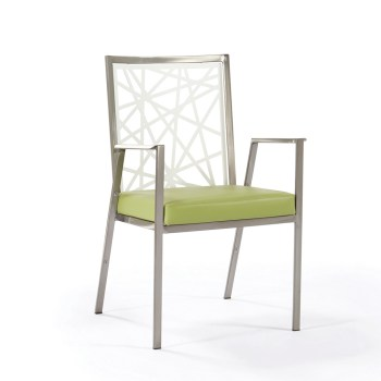 Luca Stacking Arm Chair