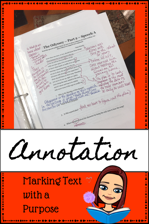 Annotation Pin
